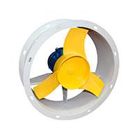 Осевые вентиляторы промышленные ВО