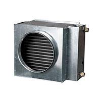 Водяные воздухонагреватели для круглых каналов